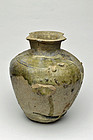Tokoname ware jar 13th century