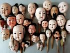 30 PIECES OF DOLL HEADS AND ICHIMATSU DOLL
