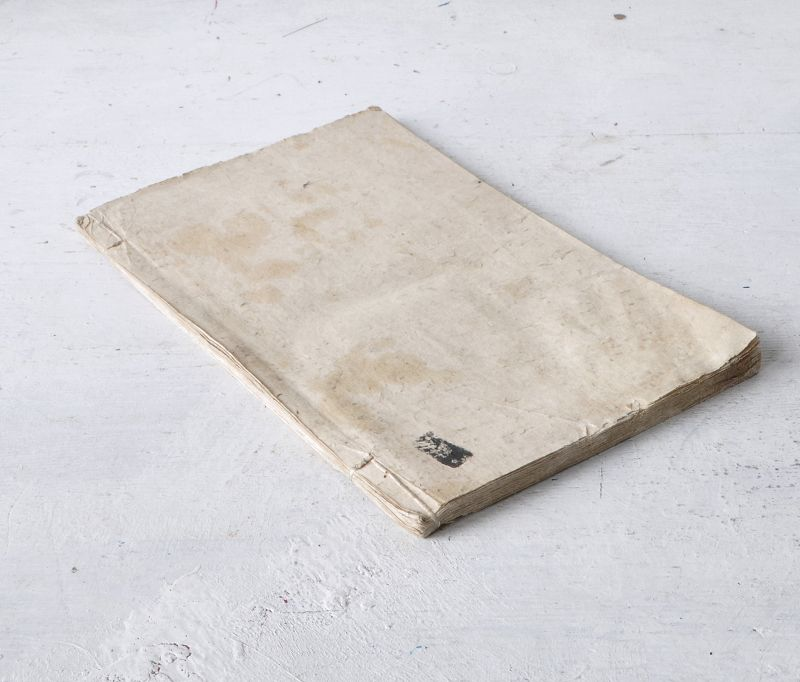 JAPANESE SAMPLE BOOK OF PRESSED BOTANICAL PRINTS
