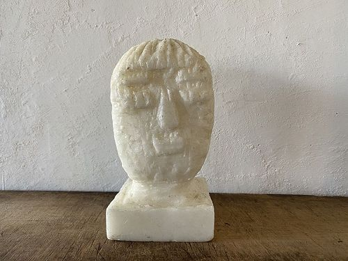 WAX BUDDHA HEAD