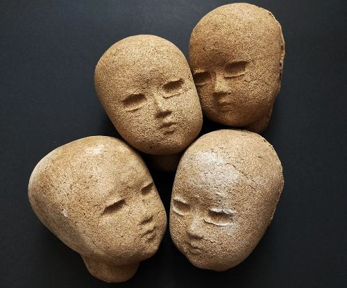LARGE DOLL HEAD MOLDS