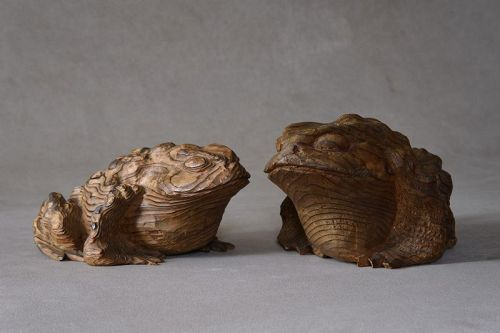 A COUPLE OF TOADS