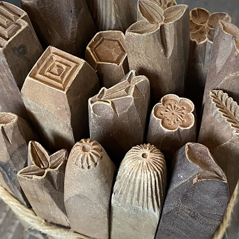 JAPANESE SWEETS MOLDS 17pc.