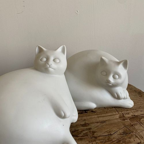 TWO KITTIES BEFORE PAINTED