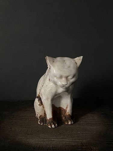 CAT INCENSE BURNER