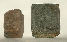 Maya stone bark beaters