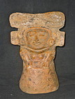 A LARGE MOLD CAST MAYA MAIDEN