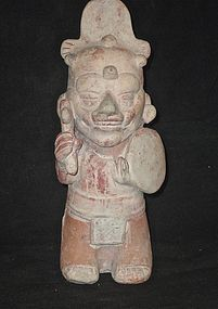 AN UNUSUAL NAPILOA WHISTLING FIGURE FROM VERACRUZ