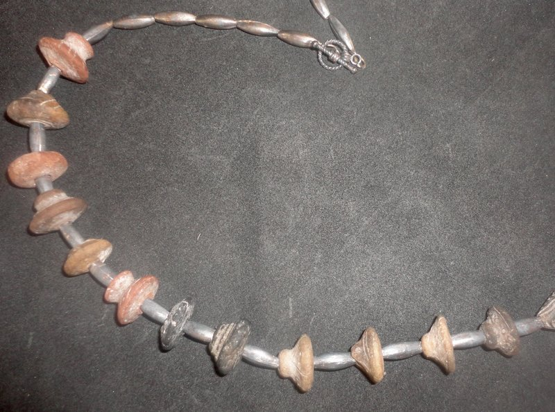 """''ROCKS OF AGES""""...A NEW DIRECTION IN ORNAMENTATION....NECKLACE"""