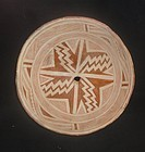 AN OUTSTANDING MIMBRES GEOMETRIC BOWL