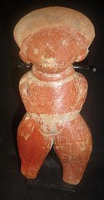 A SOLID CHINESCO NAYARIT STANDING FIGURE