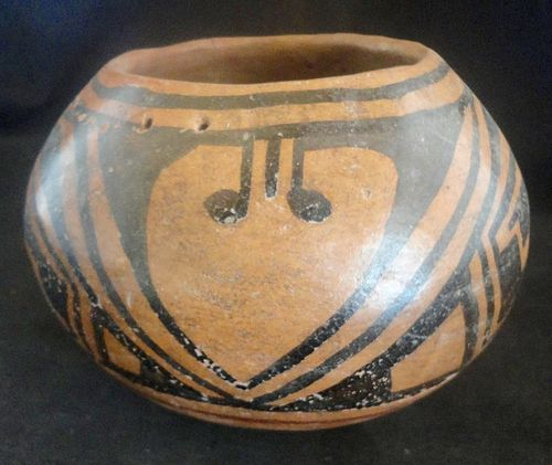 A WELL EXECUTED CASAS GRANDES POLYCHROME SEED BOWL