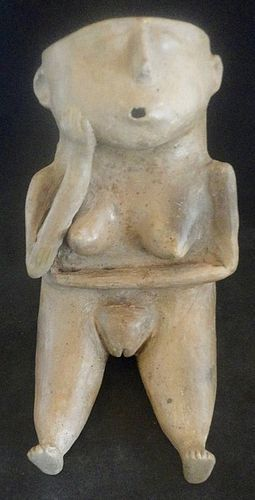 A CASAS GRANDE FEMALE EFFIGY JAR