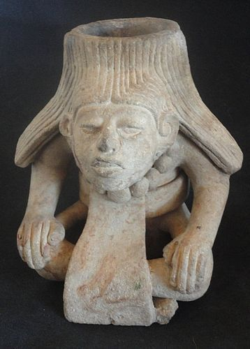 AN EXCEPTIONAL BURIAL URN FROM PRE-COLUMBIAN MEXICO