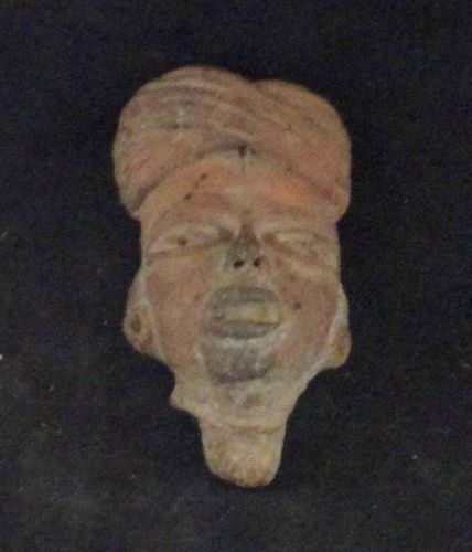 PRE=CLASSIC POTTERY HEAD WEARING TURBAN