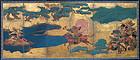 18th century Japanese Samurai Warrior Screen