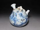 Rare Edo p. Miyagawa Chozo Kyusu Tea Pot