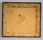 The Roaring 20�s, Framed Painting by Nishimura Goun