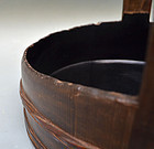 Antique Japanese Tea Room Sumitori Charcoal Tray