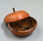 Lacquer Maki-e Gourd Kogo Incense Case