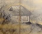 Hermitage in the Plum Forest by Akashiya Shoun