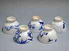 Antique Japanese Sencha Tea Set, Sekka, Tessai, Keinen