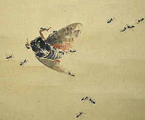 Ishikawa Chikuson Late Summer Scroll