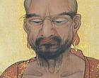 Takayama Shunryo Scroll, Shakyamuni Buddha in Meditation