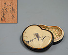 Kogo Incense Case by Miyagawa (Makuzu) Kozan I