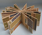 Antique Japanese Book of Textile Cloth Samples, Kirecho