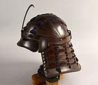Rare Collapsable Edo period Kabuto Samurai Helmet (not chochin style)