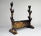 Antique Japanese Katana Kake Sword Stand