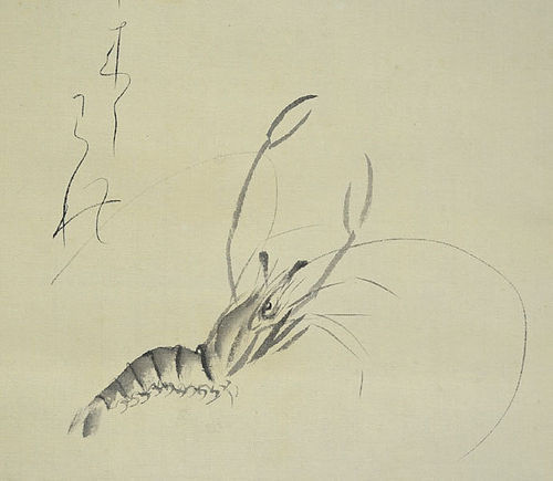 Fresh Water Shrimp by Oishi Junkyo, Zen Nun & Artist
