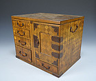 Antique Japanese Parquetry �Folding� Desk