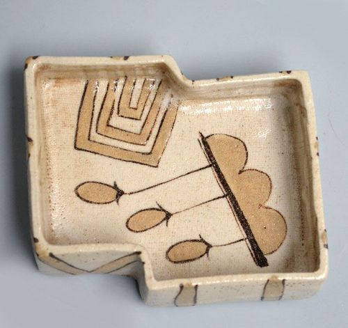 Momoyama period Oribe Mukozuke w/ box by LNT Kato Takuo
