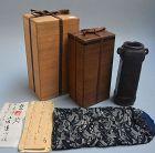 Antique Japanese Edo p. Kuchu Hanaire Vase