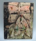 Nakamura Yoshitane �Ga� Post War Abstract Oil Painting