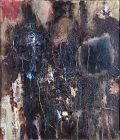 Yamada Eiji Japanese Post-war Abstract Oil Painting