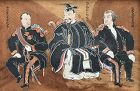 Unprecedented! Napolean, Hideyoshi, Washington Meiji Ema Votive Plack