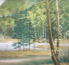 Sasaki Shunka Bunten Exhibited Screen, 1936