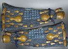 Edo p Samurai Yoroi Armor Sleeves signed Katsumitsu