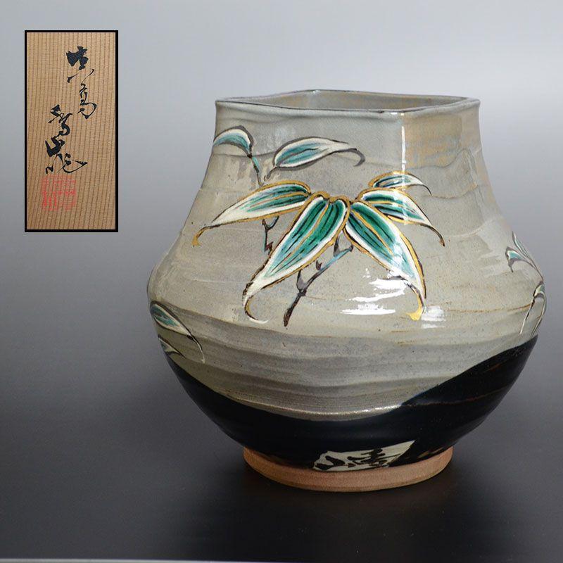 Antique Miyagawa (Makuzu) Kozan Ceramic Vase