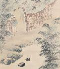 Scroll Painting by Bamboo Artist Yamamoto Chikuryusai I