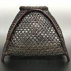 Woven Bamboo Art Basket by Yamamoto Shoen (Chikuryusai I)