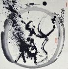 Buddhist Priest Kasumi Bunsho Enso Zen Circle