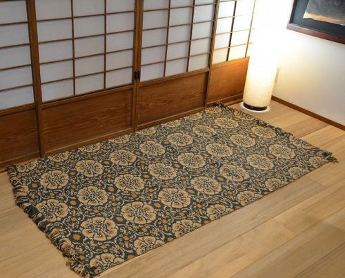 Early 20th c. Tatsumura Heizo Shosoin Carpet