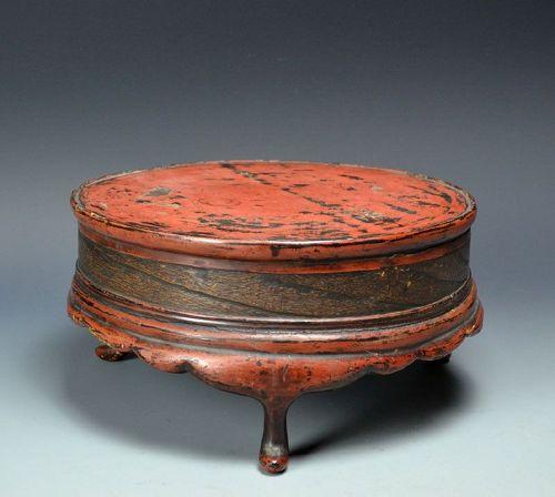 Muromachi Era Japanese Negoro Table