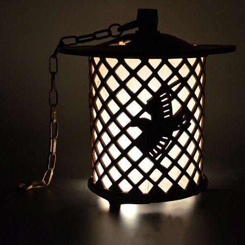 Japanese Bronze Lantern by Aida Tomiyasu