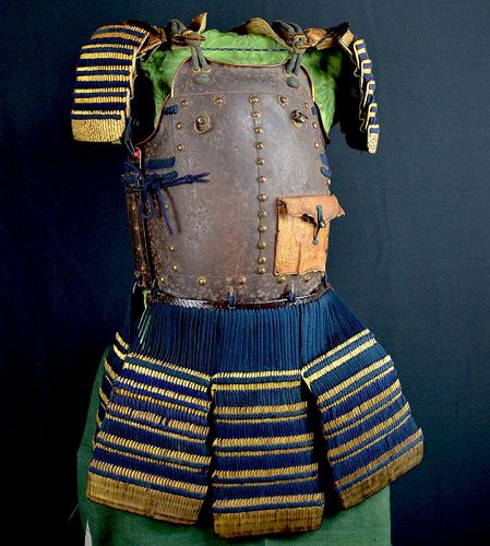 Edo p. Myochin Signed Nanban Do, Japanese Armor 1620