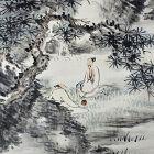 Fabulous Landscape Scroll by Tanaka Hakuin